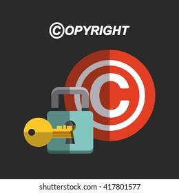 copyright symbol design