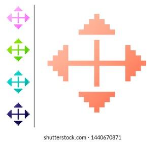 Images, photos et images vectorielles de stock de 4 Direction Icons