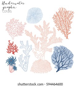 corals graphic collection