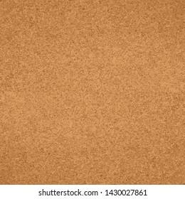 Cork board wood texture seamless pattern. Vector illustration
