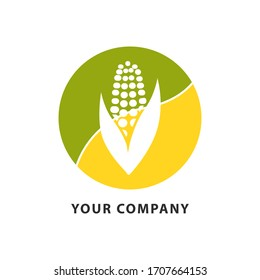 corn logo images stock photos vectors shutterstock https www shutterstock com image vector corn farm logo vector illustration symbol 1707664153