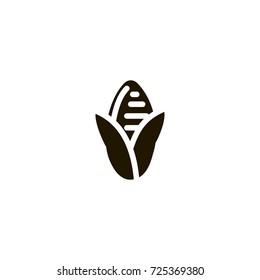 corn icon. sign design