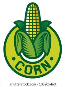 corn label