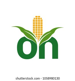 corn logo images stock photos vectors shutterstock https www shutterstock com image vector corn vector logo logotype on word 1058980130