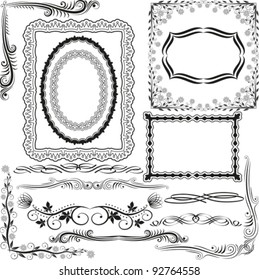 corners, borders and ornaments
