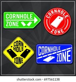 Cornhole Zone Logos