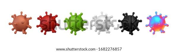 Corona Virus Covid 19ncp Coronavirus Ncov Stock Vector Royalty Free 1682276857