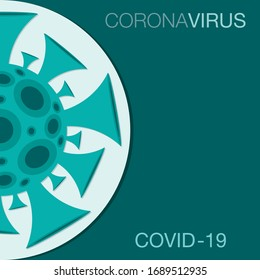 Coronavirus, covid-19, signe 2019-ncov au format vectoriel.