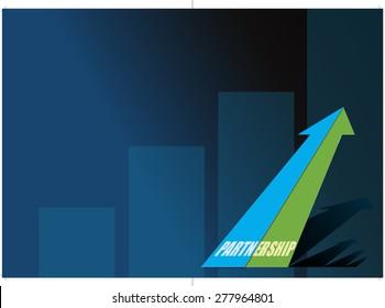 A corporate brochure design concept - Vector