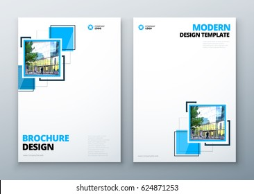 Corporate Business Annual Report Cover, brochure or flyer design. Leaflet presentation. Catalog with Abstract geometric background. Modern publication poster magazine, layout, template for business