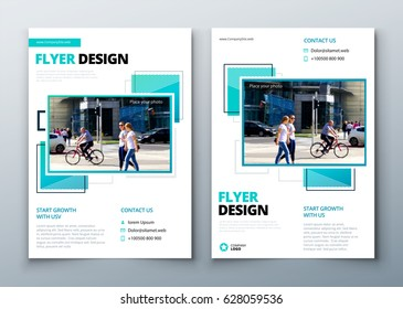 Corporate Business Annual Report Cover, brochure or flyer design. Leaflet presentation. Catalog with Abstract geometric background. Modern publication poster magazine, layout, template for business.