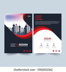 Corporate Business Brochure Layout Template