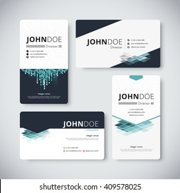 Business card template name card design stock vector royalty free corporate business card template business card design vector stock friedricerecipe Images