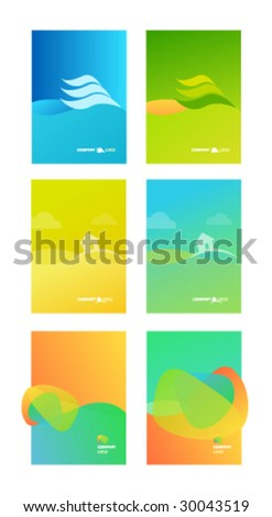 corporate business folder template background stock vector royalty