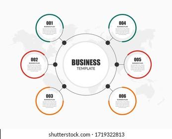 Corporate Business Infographic Element Premium Vector
