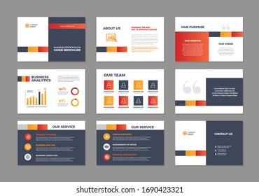 Corporate Business Presentation Guide Brochure Template