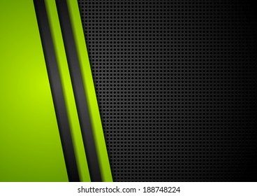 Corporate dotted vector abstract background