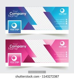 Corporate facebook timeline cover design