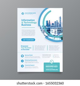 Corporate Flyer Design Template in A4. Can be adapt to Brochure, Annual Report, Magazine,Poster, Corporate Presentation, Portfolio, Banner, Website.