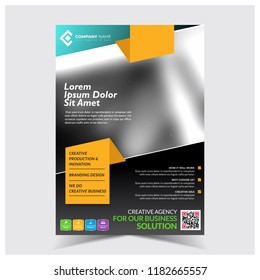 Flyer templates images stock photos vectors shutterstock corporate flyer template business flyer template flashek Gallery