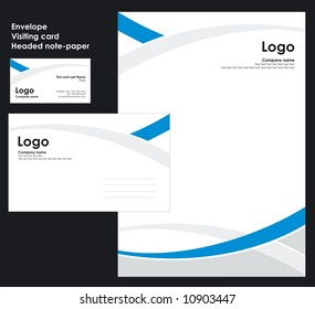 Corporate Identity Template Vector 2