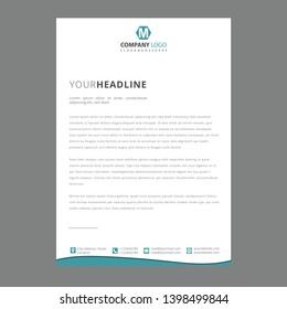 Corporate Letterhead Pad/ Letterhead Design / Pad Design