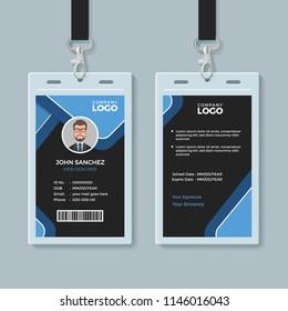 Corporate Office Identity Card Template