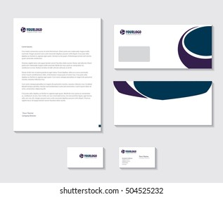 Corporate Stationery Template Modern Design