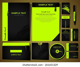 Corporate style. 12 various templates.