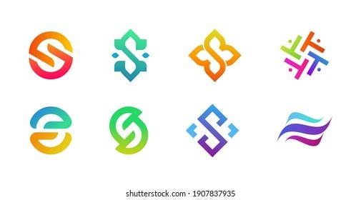 Corporate Tech Logo Template Bundle