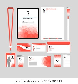 corporate vector set graphic design