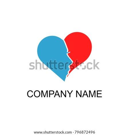 Corporate Wedding Reception Logo Stock Vector Royalty Free