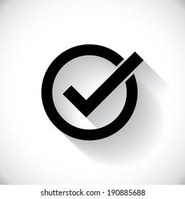 Correct symbol illustration