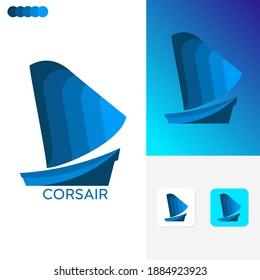 Corsair Logo Template Design Concepts