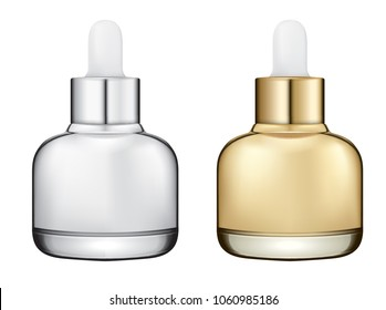 Cosmetic ampoule container bottle