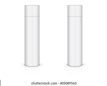 Cosmetic bottle for your design and logo Mock up Vector Template
