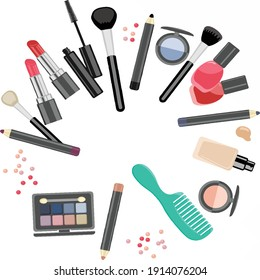 Cosmetics Beauty Parlour Women HD VECTOR FOR USER