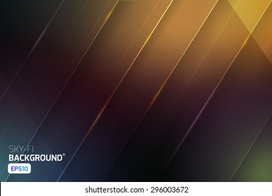 Cosmic sci-fi vector abstract background. Science, disco, party. Print, video News and sport
