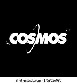 Cosmos Logo Design Vector Art Graphic