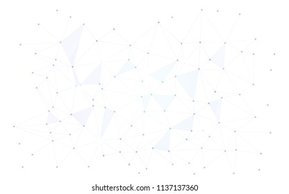 cosmos sci fi scientific background .  space dots connected with lines , science fiction stars map or poligon mesh , white purple full ultra hd wallpaper horizontal screen saver