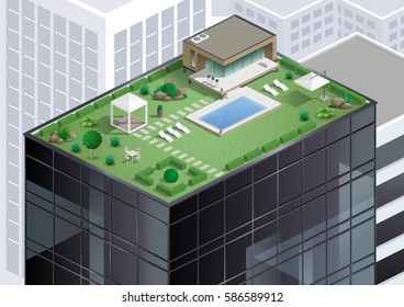 Imágenes Fotos De Stock Y Vectores Sobre Terraza Edificio