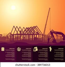 cottage under construction