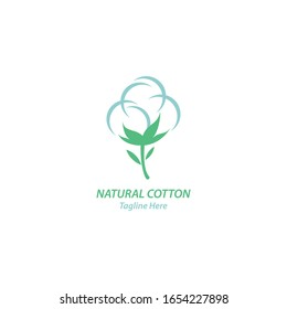 Cotton logo illustration vector design