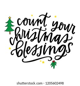 Count Your Christmas Blessings