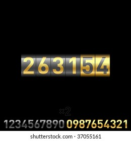 Counter. Vector. You can multiply by 2 digits from the bottom and replace them.