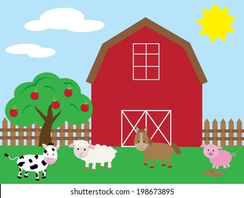 Country Barnyard