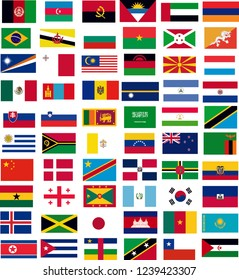 country flags vector.all country flags,flags,vector flags set