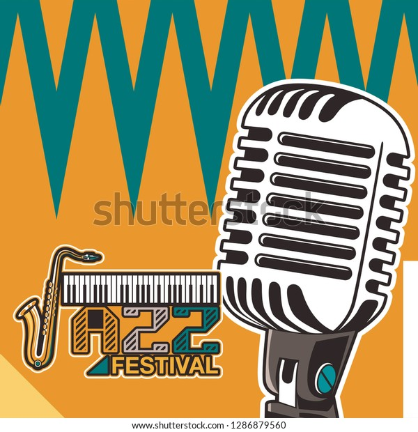 Country Music Festival Poster Stock Vector (Royalty Free