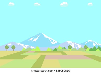 Country scenery