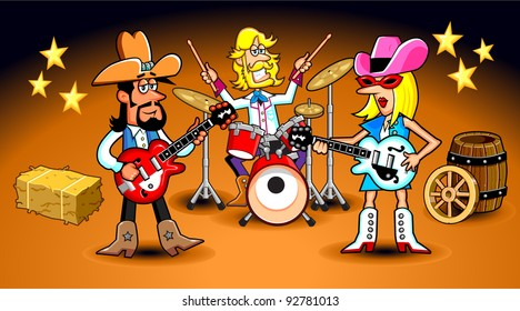 Country Western Band